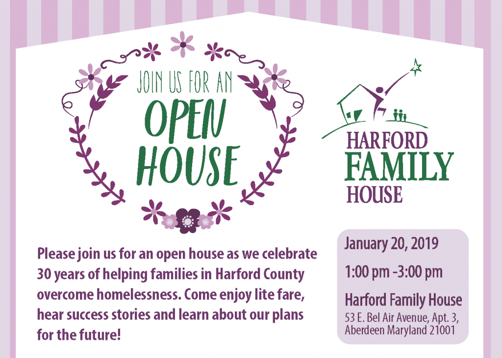 HFH Open House Invitation - January 2019